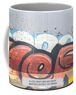 Coffee Mug featuring the photograph Train Art by Dart and Suze Humeston