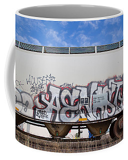 Train Art Coffee Mug