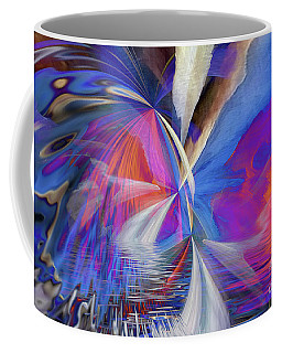 Coffee Mug featuring the digital art Transition 2016 by Margie Chapman