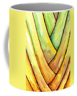 Travelers Palm Trunk Coffee Mug