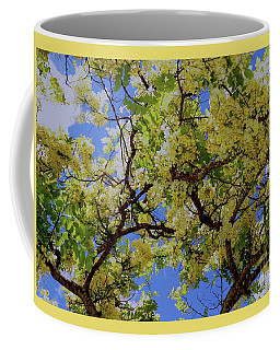 Coffee Mug featuring the photograph Trees And Flowers In Hawaii by D Davila