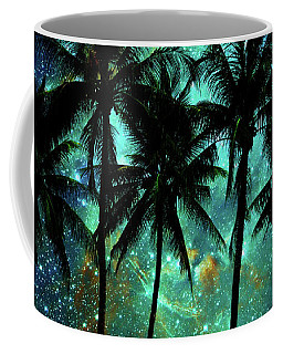 Coffee Mug featuring the photograph Tropical Night by Delphimages Photo Creations