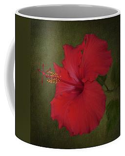 Tropical Red Hibiscus  Coffee Mug