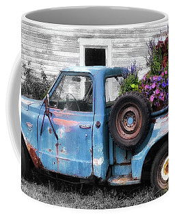 Truckbed Bouquet Coffee Mug