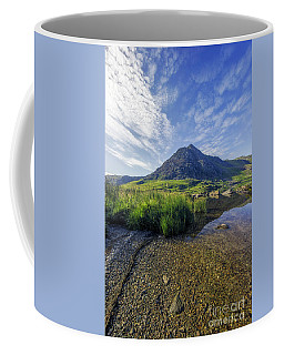 Tryfan Mountain Coffee Mug by Ian Mitchell
