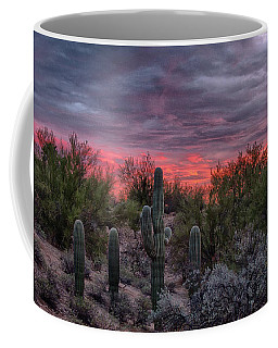Tucson Sunset Coffee Mug