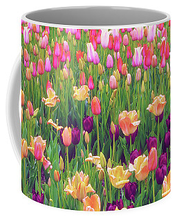 Tulip Field Coffee Mug by Jessica Jenney