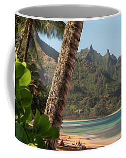 Tunnels Beach Haena Kauai Hawaii Bali Hai Coffee Mug