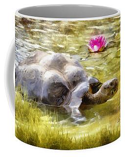 Turtle Takes A Swim Coffee Mug