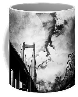 Two Bridges One Moon Coffee Mug