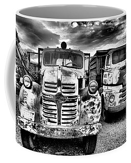 Coffee Mug featuring the photograph Two Old Beauties by Jeff Swan