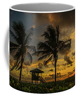 Two Palm Sunrise Delray Beach Florida Coffee Mug