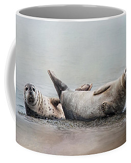 Coffee Mug featuring the photograph Two's Company by Robin-Lee Vieira