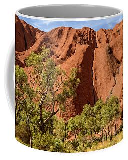 Coffee Mug featuring the photograph Uluru 07 by Werner Padarin