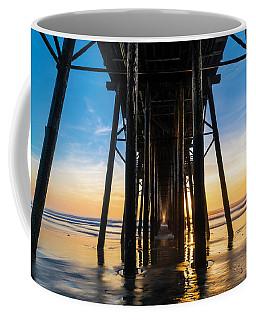 Under The Oceanside Pier Coffee Mug