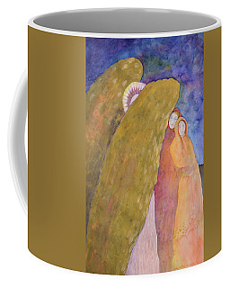 Under The Wing Of An Angel Coffee Mug by Lynda Hoffman-Snodgrass