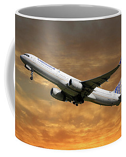 United Airlines Boeing 757-224 Coffee Mug