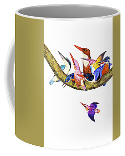 Coffee Mug featuring the photograph United Family by Munir Alawi