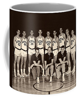 University Of Michigan Basketball Team 1960-61 Coffee Mug
