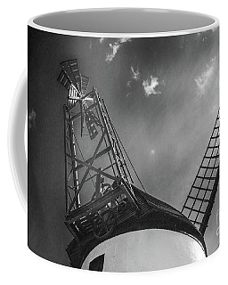 Unusual View Of Windmill - St Annes - England Coffee Mug