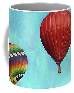 Coffee Mug featuring the photograph Up Up And Away 2 by Benanne Stiens