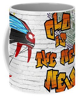 Urban Graffiti - Old Is The New New Coffee Mug