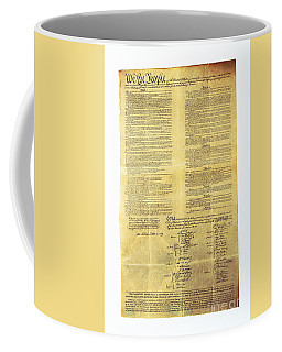 U.s Constitution Coffee Mug