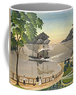 U S Mail Boat Coffee Mug