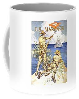 Us Marines - Ww1 Coffee Mug