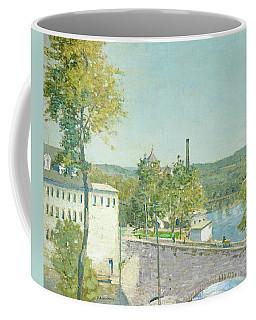 U.s. Thread Company Mills, Willimantic, Connecticut Coffee Mug