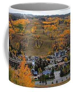 Vail Colorado Coffee Mug by Fiona Kennard