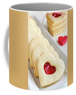 Valentines Day Treats Coffee Mug by Teri Virbickis