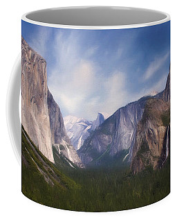 Coffee Mug featuring the photograph Valley View by Lana Trussell