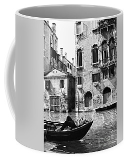 Coffee Mug featuring the photograph Venice Canal, 1969 by Granger