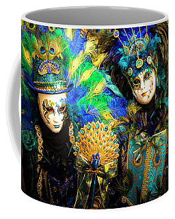 Coffee Mug featuring the photograph Venice Carnival I '17 by Yuri Santin
