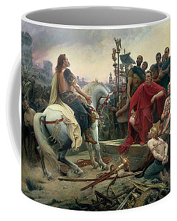 Vercingetorix Throws Down His Arms At The Feet Of Julius Caesar Coffee Mug