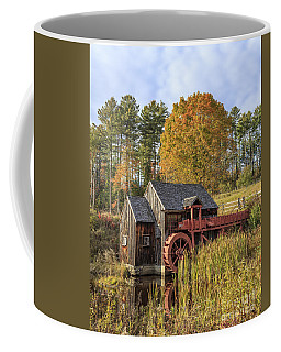 Coffee Mug featuring the photograph Vermont Grist Mill by Edward Fielding