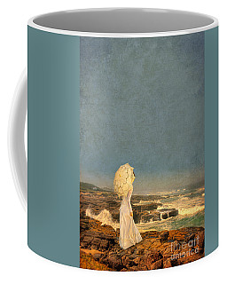Victorian Lady By The Sea Coffee Mug