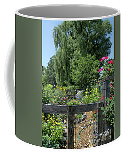 Victory Garden Lot And Willow Tree, Boston, Massachusetts #30958 Coffee Mug