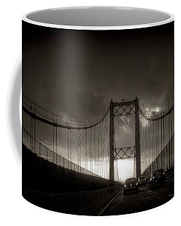 Vincent Thomas Bridge Coffee Mug by Joseph Hollingsworth