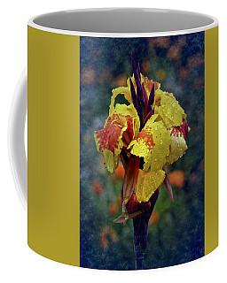 Vintage Canna Lily Coffee Mug