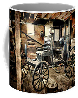 Vintage Horse Drawn Carriage  Coffee Mug