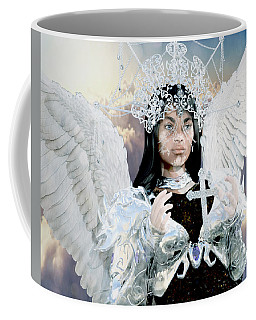 Vitiligo Angel Coffee Mug