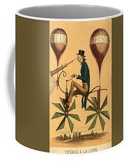 Voyage A La Lune Coffee Mug