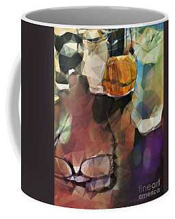 Coffee Mug featuring the photograph Waiting by Kathie Chicoine