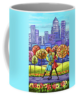 Walking In The Park Coffee Mug
