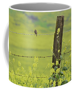 Warbler In The Meadow Coffee Mug