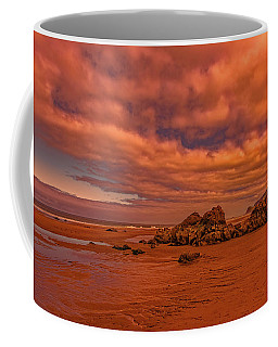 Warm Light On Lincoln City Seaside Coffee Mug