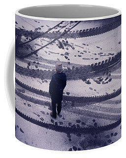 Coffee Mug featuring the photograph Watching  by Lyle Crump