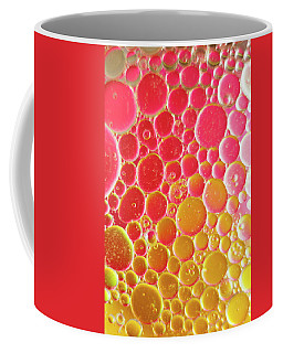 Water And Oil Bubbles Coffee Mug